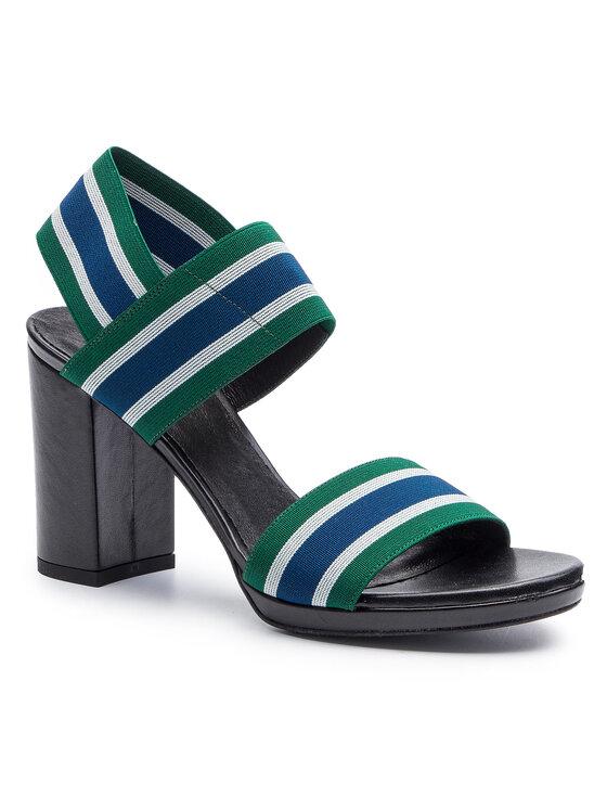 Sandały Fumi DNI378-AY8-TS00-0567-0 kolor Zielony kod 0000201205198 1