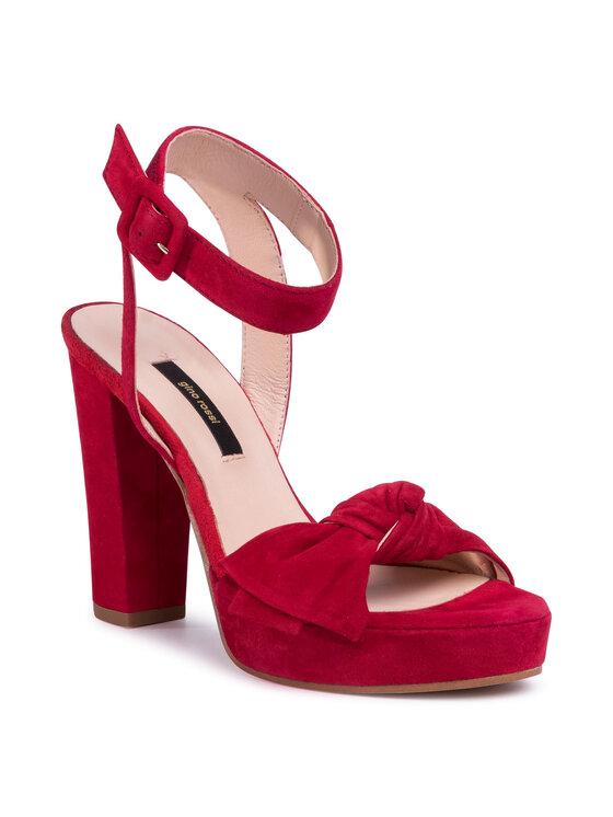 Sandały A45185-01 kolor Czerwony kod 5903419593925 1