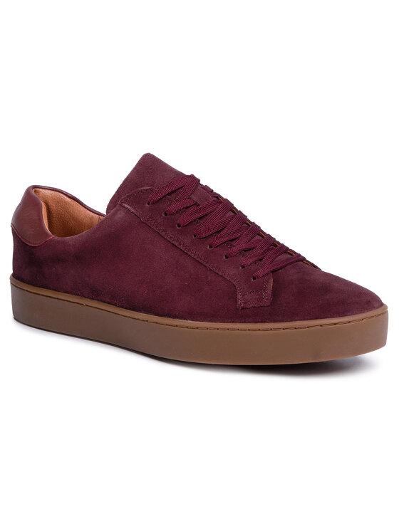Sneakersy MI07-A973-A802-06 kolor Bordowy kod 5903419693335 1