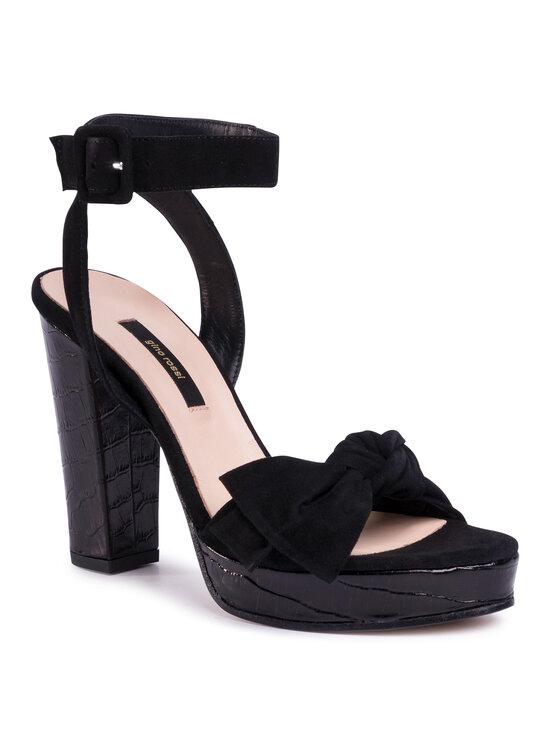 Sandały A45185-02 kolor Czarny kod 5903419334856 1