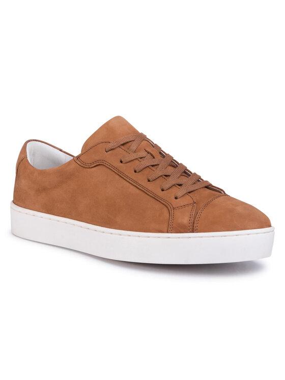 Sneakersy  MI07-A973-A802-05 kolor Brązowy kod 5903419580437 1