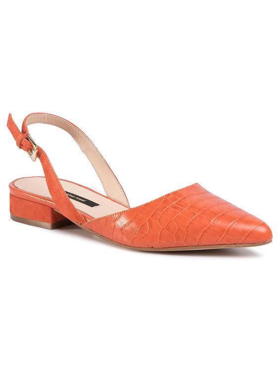 Sandały A45294-02 kolor Pomarańczowy kod 5903419244032 1