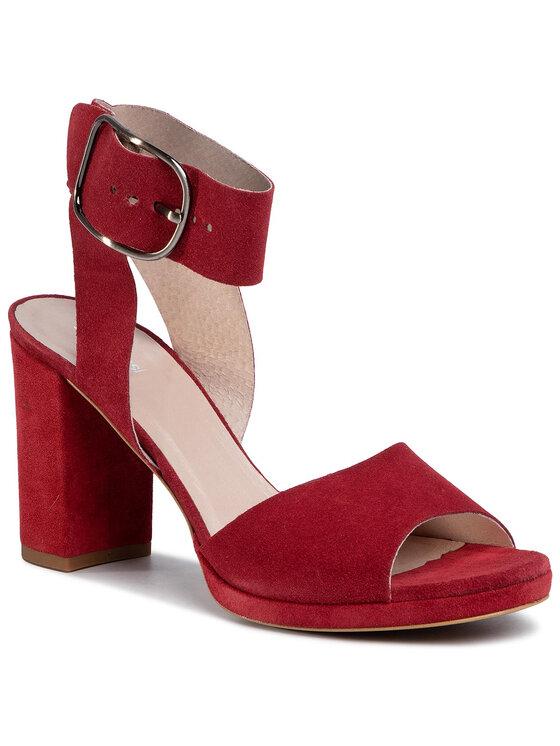 Sandały Fumi DNH323-W30-R500-7100-0 kolor Bordowy kod 0000207190917 1