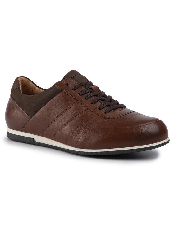 Sneakersy MI08-C666-667-01 kolor Brązowy kod 2230007816269 1