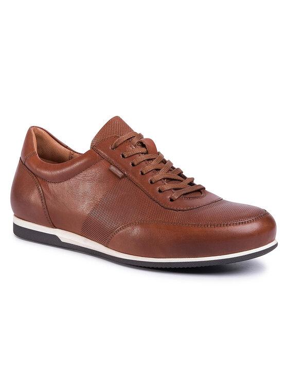 Sneakersy MI08-C666-667-04 kolor Brązowy kod 5903419173141 1