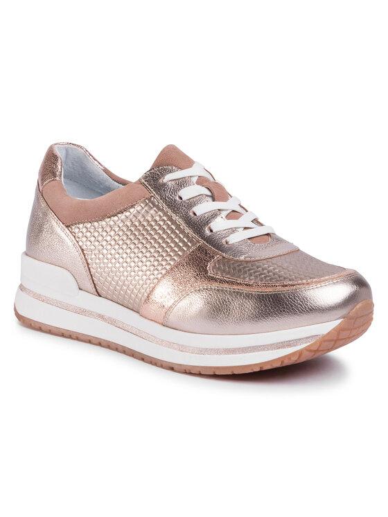 Sneakersy RST-LIKE-01 kolor Złoty kod 5903419542084 1