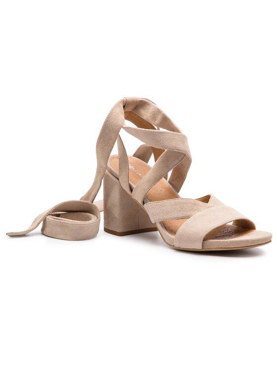 Sandały Hana DNH373-W51-0020-1700-0 kolor Beżowy kod 0000200150062 1