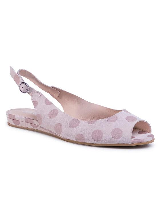 Sandały Rosita DNH383-V62-0529-3900-0 kolor Różowy kod 0000201205815 1