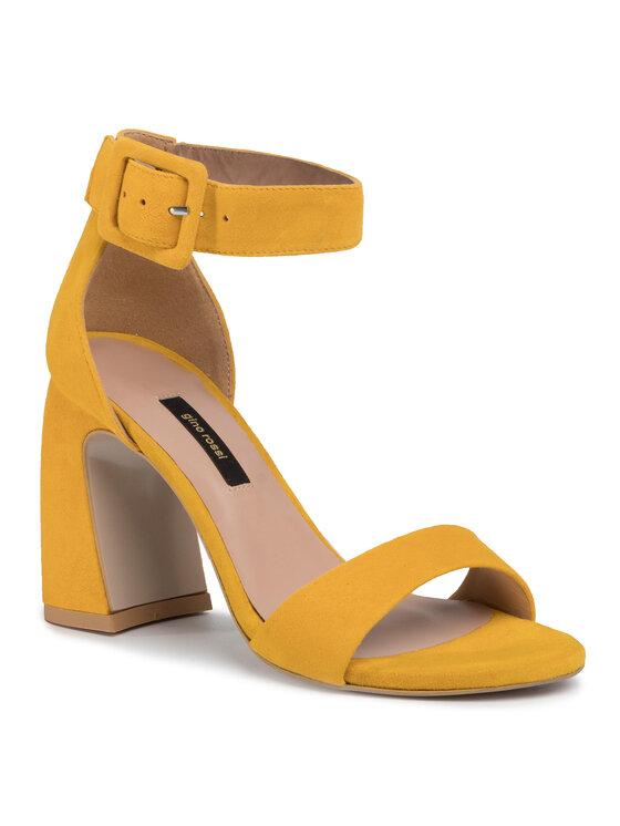 Sandały Sin -DS6-0760-2100-0 kolor Żółty kod 0000207615151 1