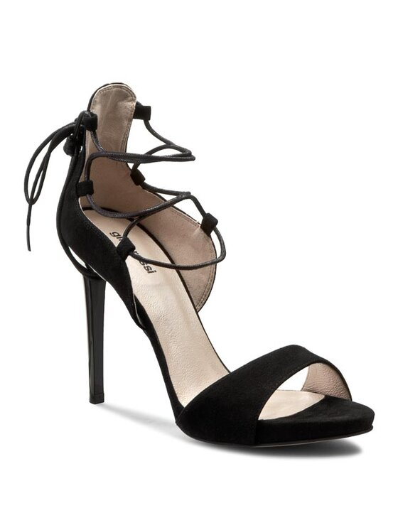 Sandały Gina Plato DNG981-P87-4900-9900-0 kolor Czarny kod GINOROSSIDNG981P87490099000 1
