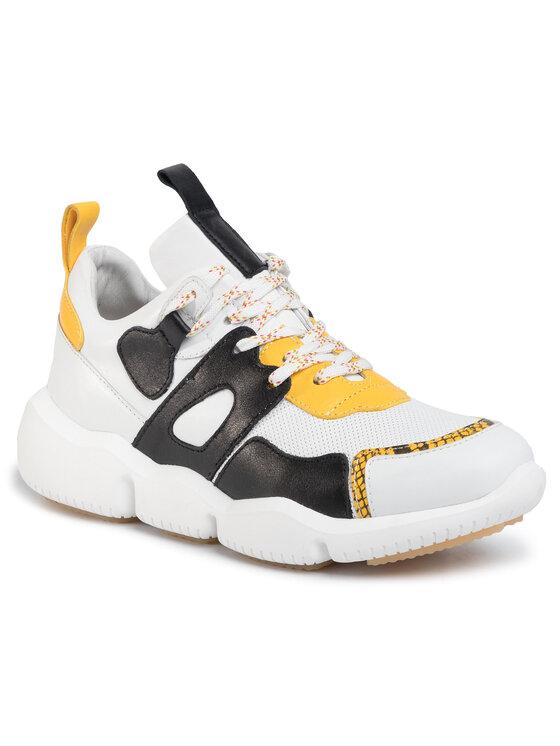 Sneakersy 33312-76 kolor Biały kod 5903419554629 1