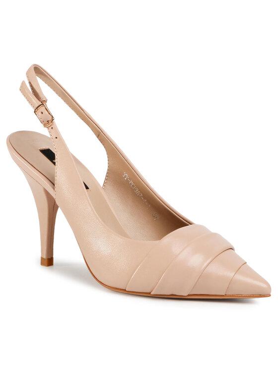 Sandały TY-PCP387-4-1 kolor Beżowy kod 5903419446573 1