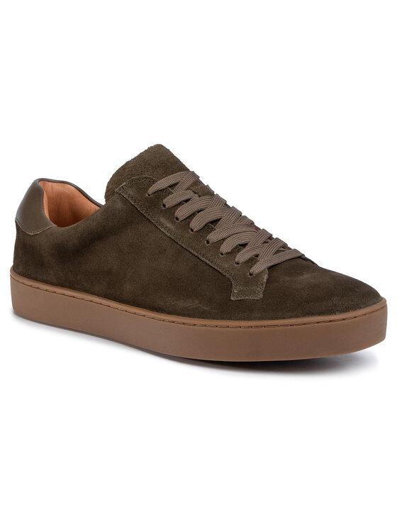 Sneakersy MI07-A973-A802-06 kolor Zielony kod 5903419693328 1