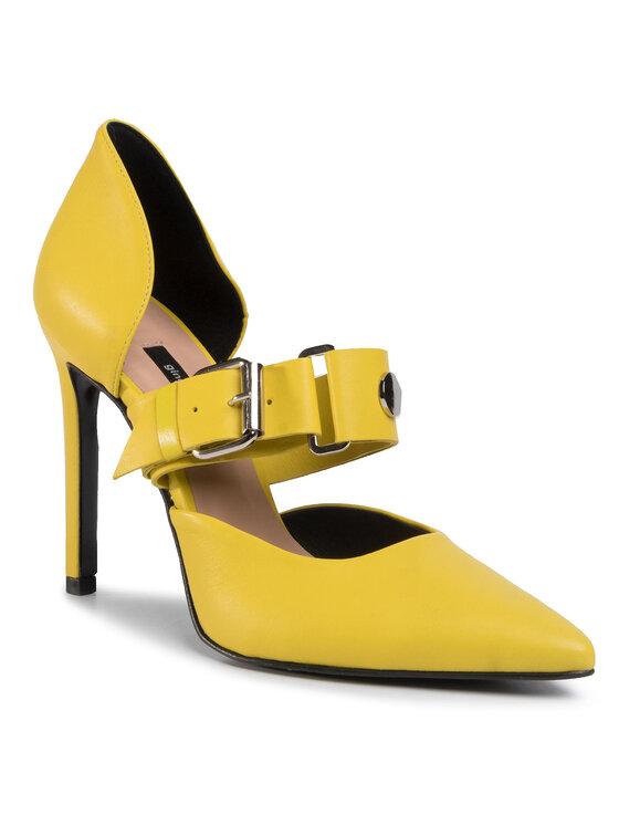 Szpilki Miya DCK051-CW7-1060-4100-0 kolor Żółty kod 0000207045156 1
