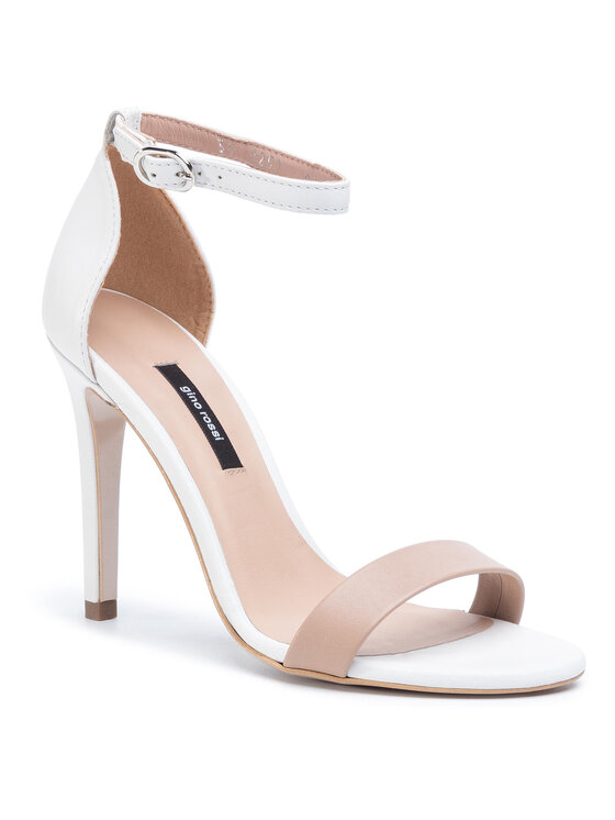 Sandały Minako DNK012-DH3-0324-1100-0  kolor Biały kod 0000207044975 1