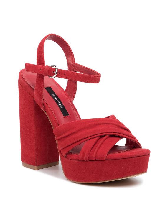 Sandały 119AL2727 kolor Czerwony kod 5903419520235 1
