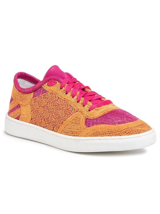 Sneakersy Mariko DPH760-W69-DZN0-2761-T  kolor Pomarańczowy kod 0000207252219 1