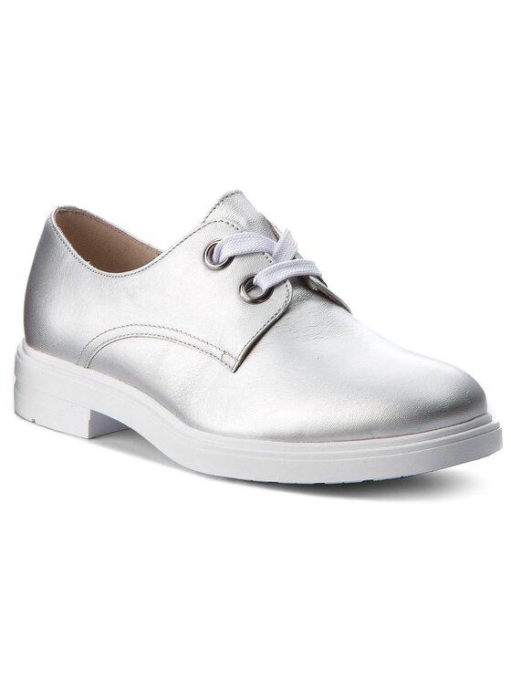 Oxfordy Mitsu DPH884-Z43-0298-8300-0 kolor Srebrny kod 0000200141145 1