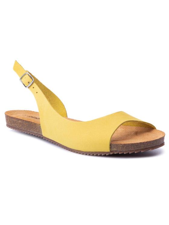 Sandały Shila DN381N-TWO-BN00-2100-X kolor Żółty kod 0000201557174 1