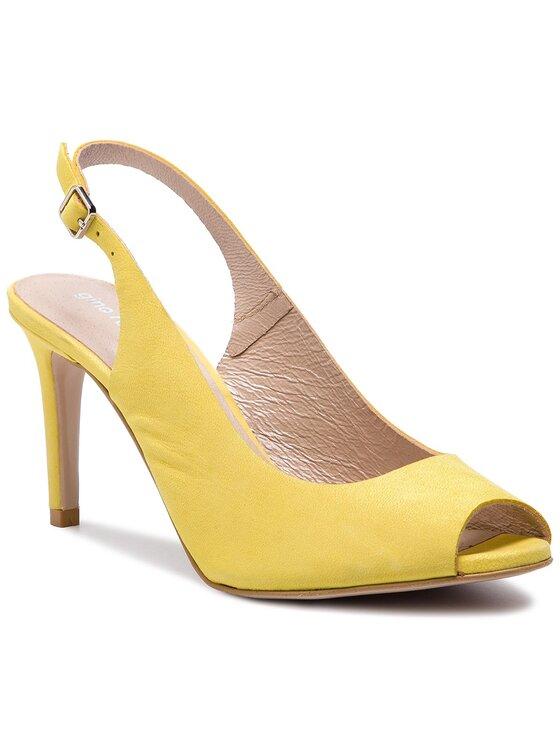 Sandały Olivia DNH866-AW3-0014-2100-0 kolor Żółty kod 0000201165348 1