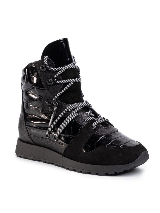 Sneakersy Yuka DTI775-Y15-0878-9999-T  kolor Czarny kod 0000206248527 1