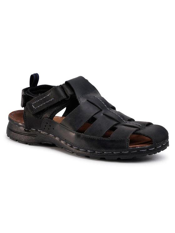 Sandały Bermejo MN2719-TWO-BN00-9900-T kolor Czarny kod 0000207252455 1