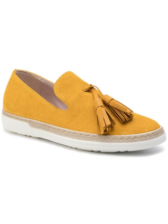 Półbuty Asami DWI384-V58-0594-2121-0 kolor Żółty kod 0000201205518 1