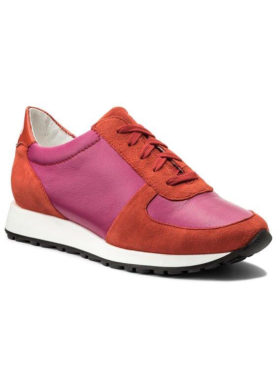 Sneakersy Yuka DPH739-S56-0302-0501-T kolor Różowy kod 0000200409993 1