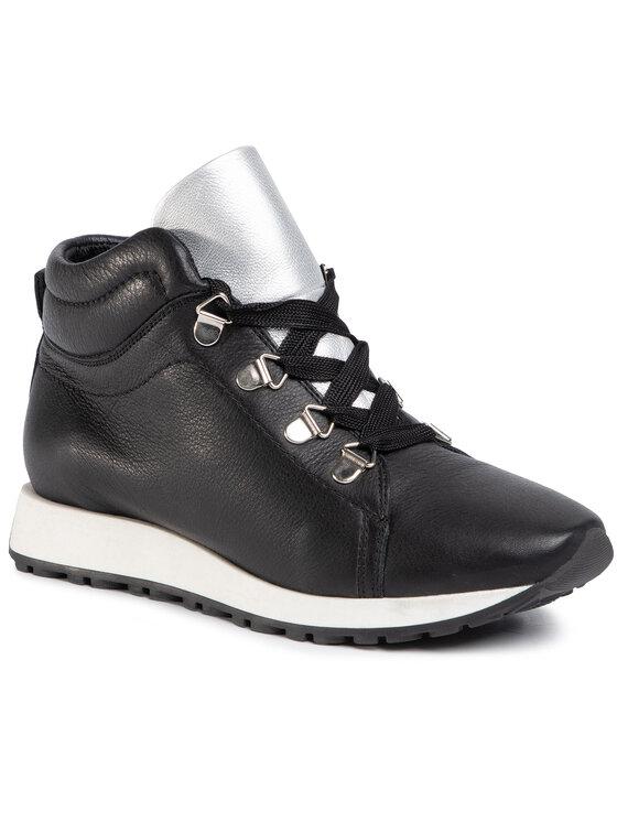 Sneakersy Yuka DTI031-S56-0402-0039-T  kolor Czarny kod 0000207226098 1
