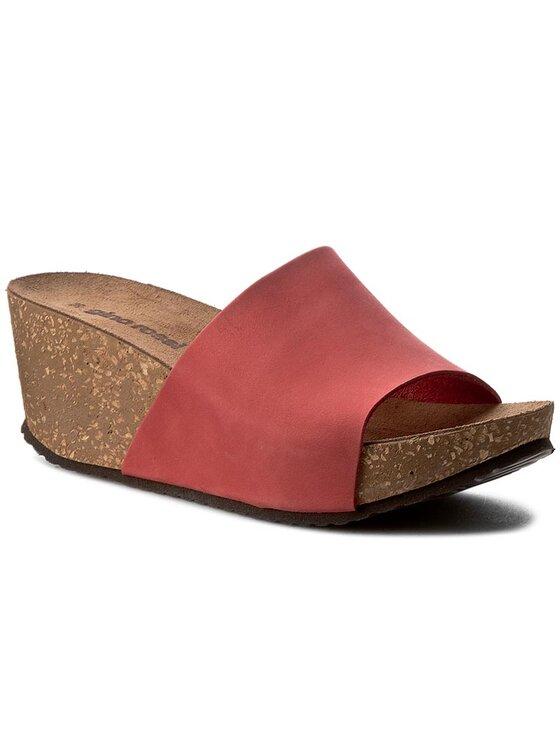 Klapki Kebba DL614M-TWO-BN00-7100-0 kolor Czerwony kod 0000199696961 1