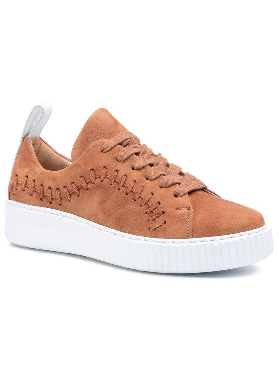 Sneakersy Kin DPK099-883-0760-2500-0 kolor Brązowy kod 0000207045699 1