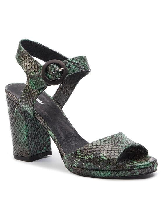Sandały Fumi DNH327-AV9-0641-4300-0 kolor Zielony kod 0000201205044 1