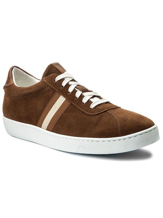 Sneakersy Tiziano MPU103-AQ5-R5XB-2550-T kolor Brązowy kod 0000200142524 1