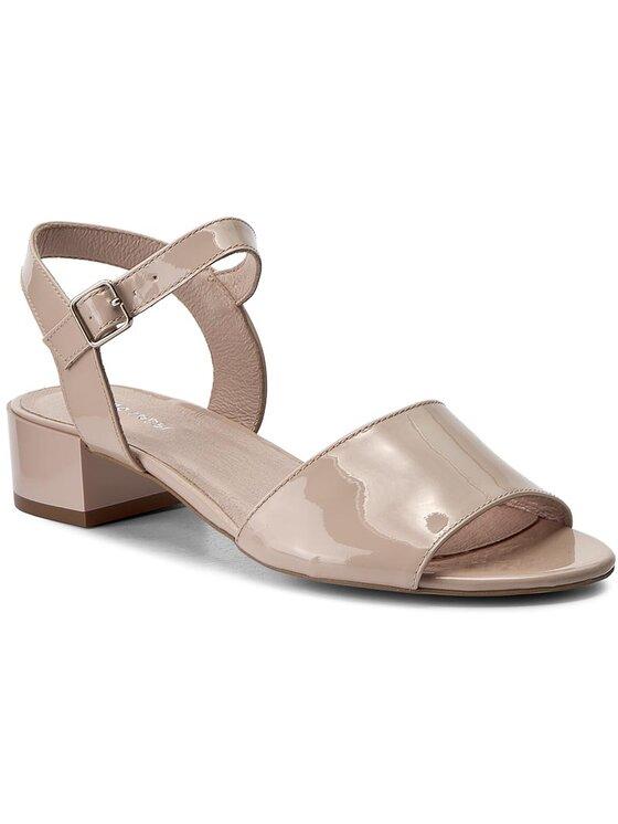 Sandały Uva DNH349-W44-JE00-3900-0 kolor Beżowy kod 0000199888922 1