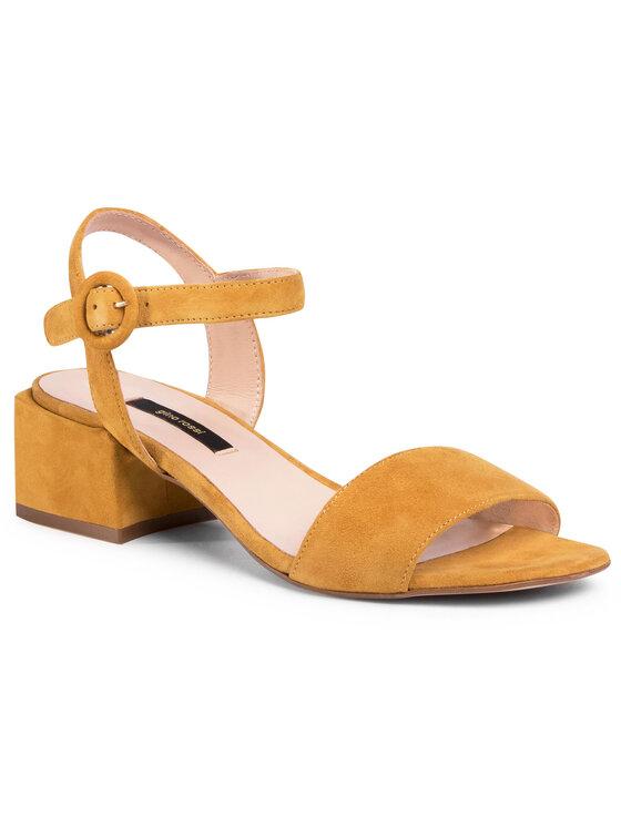 Sandały A45415 kolor Żółty kod 5903419334993 1