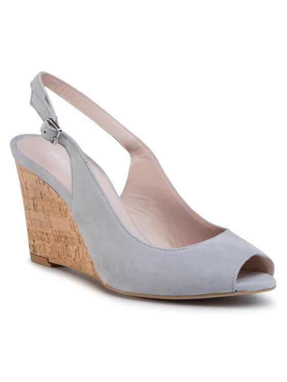 Sandały Olivia DNI404-Q62-4900-8300-0  kolor Szary kod 0000201205303 1