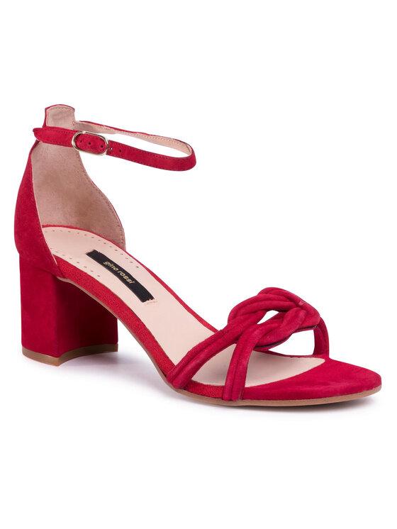 Sandały A45147 kolor Czerwony kod 5903419335068 1