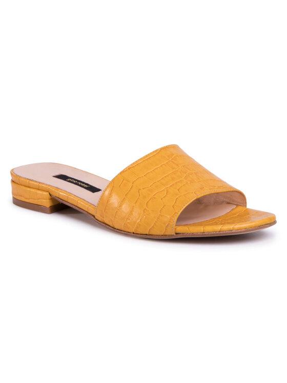 Klapki A45454 kolor Żółty kod 5903419245145 1