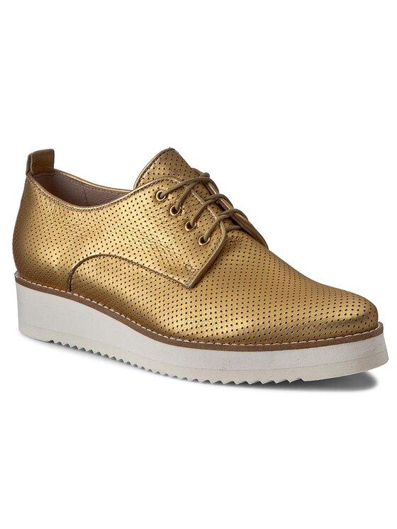 Oxfordy Pia DPH359-V82-0035-2300-0 kolor Złoty kod 0000199542848 1