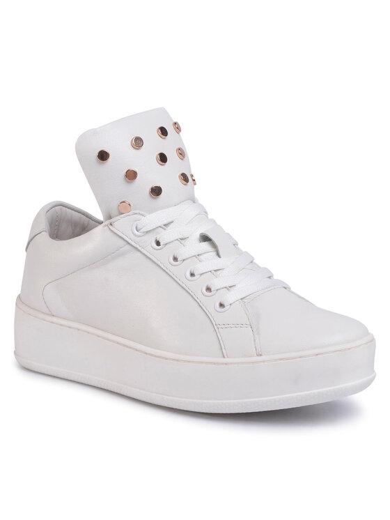 Sneakersy WI16-LEECE-01 kolor Biały kod 5903419506543 1