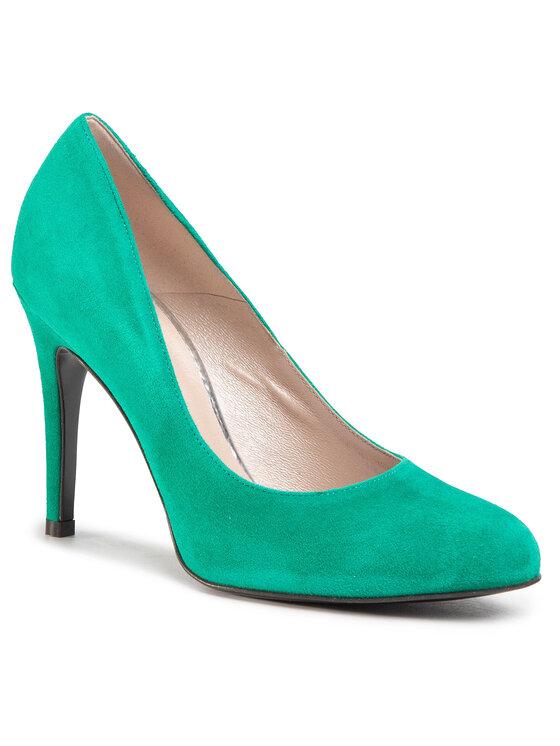 Szpilki Belen DCF292-H12-4900-0270-S kolor Zielony kod 0000207241107 1