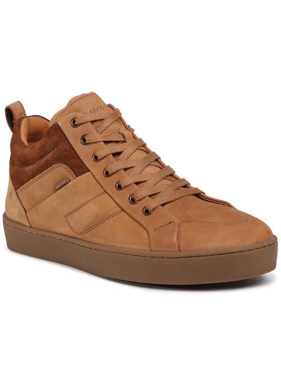 Sneakersy MI07-A973-A802-10 kolor Brązowy kod 5903419699047 1