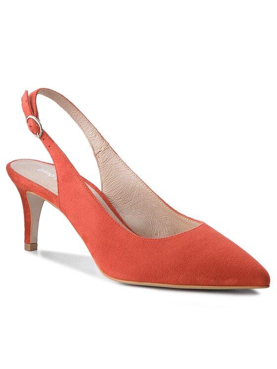 Sandały Rumi DCH730-AG8-4900-0268-0 kolor Pomarańczowy kod 0000200157115 1