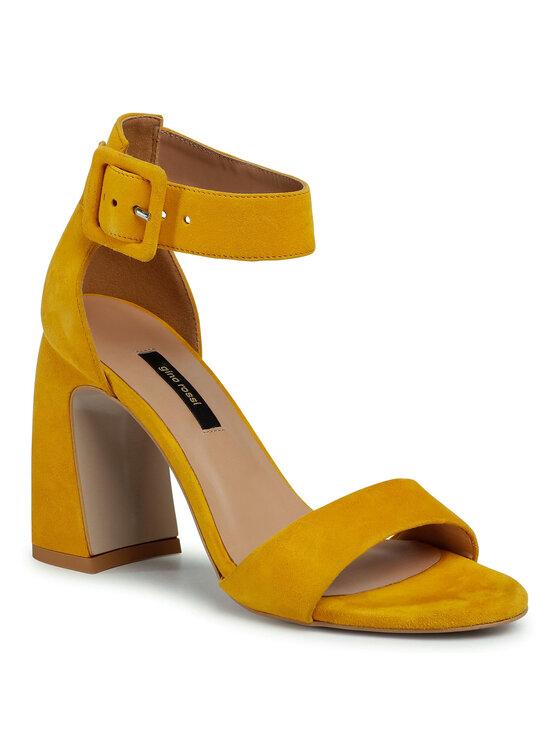Sandały DNK208 kolor Żółty kod 5903419736544 1