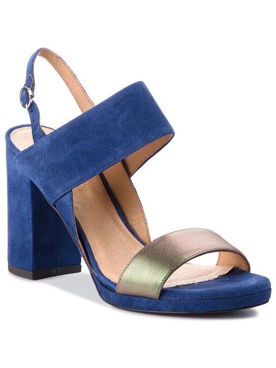 Sandały Fumi DNH874-AV9-0361-0534-0 kolor Granatowy kod 0000200150000 1