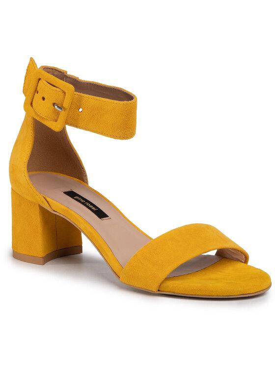Sandały DNK207 kolor Żółty kod 5903419700996 1
