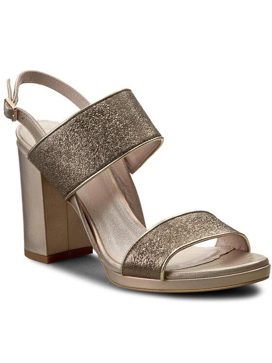 Sandały Fumi DNH324-W30-0016-1400-0 kolor Złoty kod GINOROSSIDNH324W30001614000 1