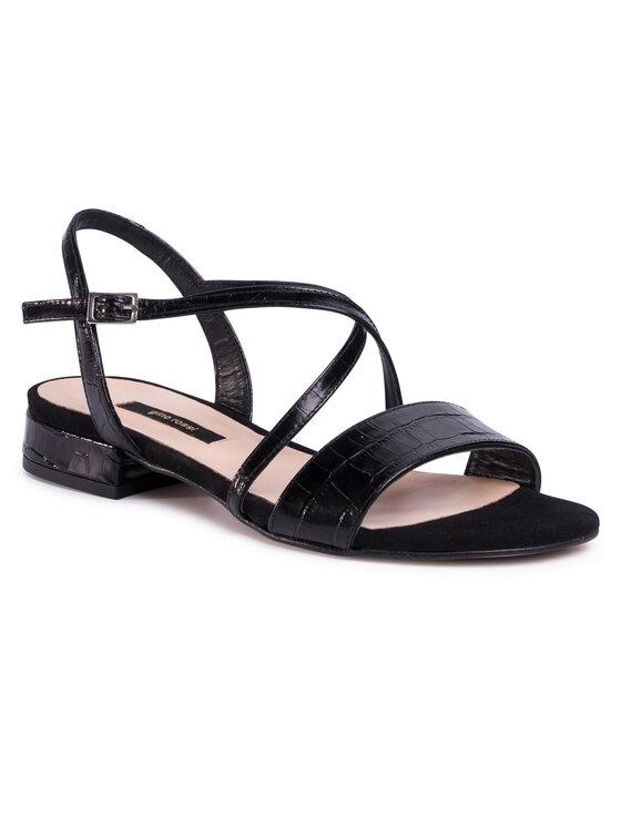 Sandały A45160 kolor Czarny kod 5903419243233 1