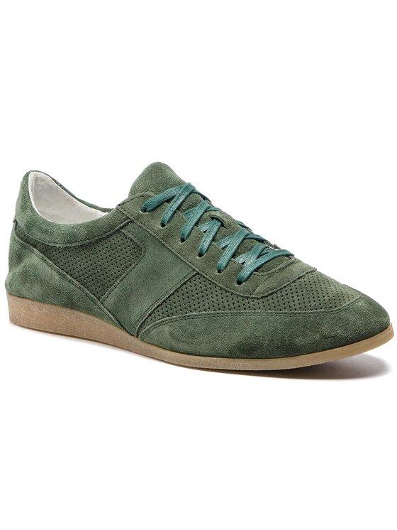 Półbuty Alan MPU033-210-R500-4900-T kolor Zielony kod 0000201165461 1