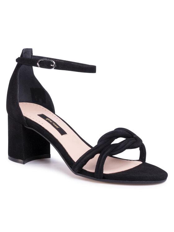 Sandały A45147 kolor Czarny kod 5903419335075 1